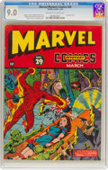 Golden Age (1938-1955):Superhero, Marvel Mystery Comics #29 (Timely, 1942) CGC VF/NM 9.0 Off-white to white pages....