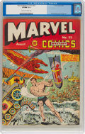 Golden Age (1938-1955):Superhero, Marvel Mystery Comics #22 (Timely, 1941) CGC VF/NM 9.0 Cream to off-white pages....