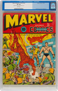 Golden Age (1938-1955):Superhero, Marvel Mystery Comics #25 (Timely, 1941) CGC VF 8.0 White pages....