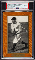 Baseball Cards:Singles (Pre-1930), 1906 Ullman Post Cards Christy Mathewson PSA Good 2 - The Only PSA Graded Example! ...