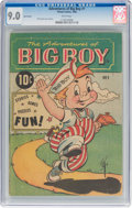 Golden Age (1938-1955):Humor, Adventures of Big Boy #1 East Variant (Timely, 1956) CGC VF/NM 9.0 White pages....