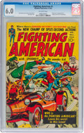 Golden Age (1938-1955):Superhero, Fighting American #1 (Headline, 1954) CGC FN 6.0 Off-white pages....