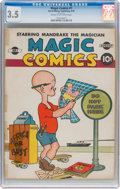 Golden Age (1938-1955):Humor, Magic Comics #1 (David McKay Publications, 1939) CGC VG- 3.5 Cream to off-white pages....