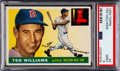 Baseball Cards:Singles (1950-1959), 1955 Topps Ted Williams #2 PSA Mint 9 - None Higher. ...