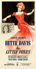 "The Little Foxes (RKO, 1941). Three Sheet (41.5"" X 79"")"
