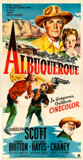 "Movie Posters:Western, Albuquerque (Paramount, 1948). Three Sheet (41.5"" X 80.25"").. ..."