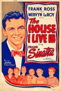 """Movie Posters:Short Subject, The House I Live In (RKO, 1945). Silk Screen Poster (40"""" X 60"""").. ..."""