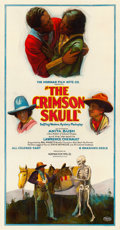 "Movie Posters:Black Films, The Crimson Skull (Norman, 1922). Three Sheet (41"" X 79"") .. ..."
