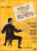 """Movie Posters:Foreign, Shoot the Piano Player (Cocinor, 1960). French Grande (46"""" X 62"""") Jouineau Bourduge Artwork.. ..."""