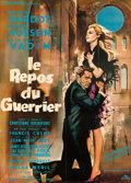 """Movie Posters:Foreign, Love on a Pillow (Cocinor, 1962). French Grande (44.5"""" X 62"""") Gilbert Allard Artwork.. ..."""