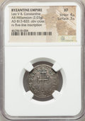 Ancients:Byzantine, Ancients: Leo V the Armenian and Constantine (AD 813-820). ARmiliaresion (22mm, 2.03 gm, 12h).NGC XF 4/5 - 3/5....