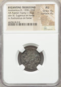 Ancients:Byzantine, Ancients: EMPIRE OF TREBIZOND. Andronicus III (AD 1330-1332). ARaspron trachy (21mm, 1.92 gm, 6h). NGC AU 4/5 - 4/5....