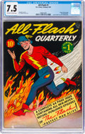 Golden Age (1938-1955):Superhero, All-Flash #1 (DC, 1941) CGC VF- 7.5 Off-white to white pages....