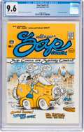 Silver Age (1956-1969):Alternative/Underground, Zap Comix #1 Plymell Edition First Printing (Apex Novelties, 1967) CGC NM+ 9.6 Off-white to white pages....