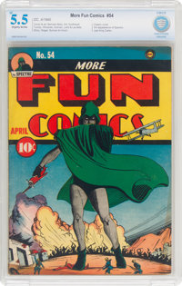 More Fun Comics #54 (DC, 1940) CBCS FN- 5.5 Slightly brittle pages