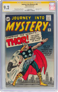 Silver Age (1956-1969):Superhero, Journey Into Mystery #89 Signature Series - Stan Lee (Marvel, 1963)CGC NM- 9.2 Cream to off-white pages....
