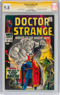 Doctor Strange #169 Signature Series - Stan Lee (Marvel, 1968) CGC NM/MT 9.8 White pages