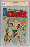 Silver Age (1956-1969):Superhero, The Sub-Mariner #1 Signature Series (Stan Lee) - Rocky MountainPedigree (Marvel, 1968) CGC NM/MT 9.8 White pages....
