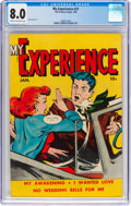 Golden Age (1938-1955):Romance, My Experience #21 (Fox Features Syndicate, 1950) CGC VF 8.0 Creamto off-white pages....