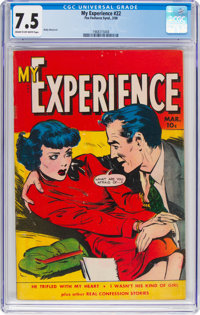 My Experience #22 (Fox Features Syndicate, 1950) CGC VF- 7.5 Cream to off-white pages