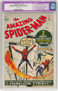 Silver Age (1956-1969):Superhero, The Amazing Spider-Man #1 (Marvel, 1963) CGC Apparent VF/NM 9.0Extensive (P) Off-white pages....