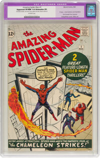 The Amazing Spider-Man #1 (Marvel, 1963) CGC Apparent VF/NM 9.0 Extensive (P) Off-white pages