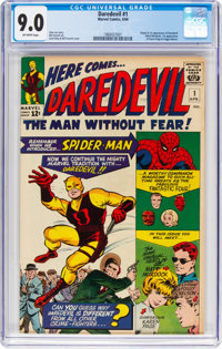 Daredevil #1 (Marvel, 1964) CGC VF/NM 9.0 Off-white pages