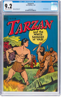 Tarzan #1 (Dell, 1948) CGC NM- 9.2 Off-white to white pages