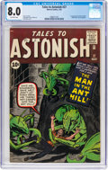 Silver Age (1956-1969):Superhero, Tales to Astonish #27 (Marvel, 1962) CGC VF 8.0 Off-white pages....