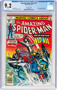 The Amazing Spider-Man #171 35-Cent Price Variant (Marvel, 1977) CGC NM- 9.2 White pages