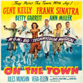 "Movie Posters:Musical, On the Town (MGM, 1949). Six Sheet (79.5 X 78.5"").. ..."