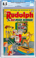 Golden Age (1938-1955):Humor, Rudolph, the Red-Nosed Reindeer #nn (DC, 1950) CGC VF+ 8.5 White pages....