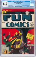 Golden Age (1938-1955):Superhero, More Fun Comics #73 (DC, 1941) CGC VG+ 4.5 Off-white pages....