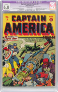 Golden Age (1938-1955):Superhero, Captain America Comics #3 (Timely, 1941) CGC Apparent FN 6.0 Slight (P) Off-white pages....