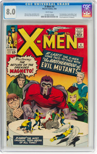 X-Men #4 (Marvel, 1964) CGC VF 8.0 White pages