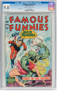 Famous Funnies #210 (Eastern Color, 1954) CGC VF/NM 9.0 Cream to off-white pages
