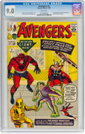 Silver Age (1956-1969):Superhero, The Avengers #2 (Marvel, 1963) CGC VF/NM 9.0 White pages....