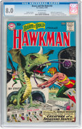 Silver Age (1956-1969):Superhero, The Brave and the Bold #34 Hawkman (DC, 1961) CGC VF 8.0 Off-whitepages....