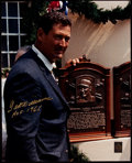 Autographs:Photos, Ted Williams Signed Oversized Photograph Lot of 2....