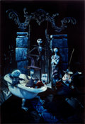 "Movie Posters:Animation, The Nightmare Before Christmas (Touchstone, 1993). Barrier Strip (Lenticular Type 3-D) One Sheet (27"" X 40"").. ..."