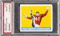 Football Cards:Singles (Pre-1950), 1948 Leaf Tom McWilliams #31 PSA NM-MT 8 - None Higher....