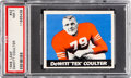 Football Cards:Singles (Pre-1950), 1948 Leaf DeWitt Coulter #42 PSA NM 7....