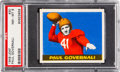 Football Cards:Singles (Pre-1950), 1948 Leaf Paul Governali #30 PSA NM-MT 8 - Only ThreeHigher....