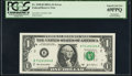 Error Notes:Mismatched Serial Numbers, Fr. 1930-B $1 2003A Federal Reserve Note. PCGS Superb Gem New 69PPQ.. ...