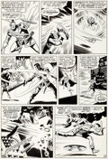 Original Comic Art:Panel Pages, Don Heck and Wally Wood Avengers #20 Story Page 19 OriginalArt (Marvel, 1965)....