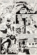 Original Comic Art:Panel Pages, Bob Powell and Wally Wood Daredevil #10 Story Page 9Original Art (Marvel, 1965)....