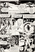 Original Comic Art:Panel Pages, Bob Powell and Wally Wood Daredevil