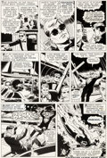 Original Comic Art:Panel Pages, Bob Powell and Wally Wood Daredevil #10 Story Page 8Original Art (Marvel, 1965)....