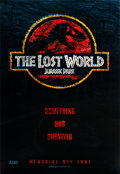 """Movie Posters:Science Fiction, The Lost World: Jurassic Park (Universal, 1997). Lenticular 3-D One Sheet (26.75"""" X 40"""").. ..."""