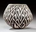 American Indian Art:Pottery, An Acoma Black-On-White Jar . Lucy M. Lewis...